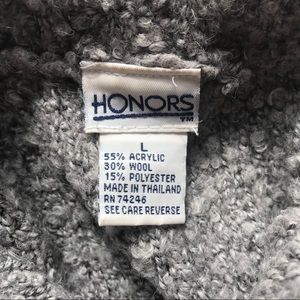 Honors Sweaters - Vintage Mock-Neck Sweater